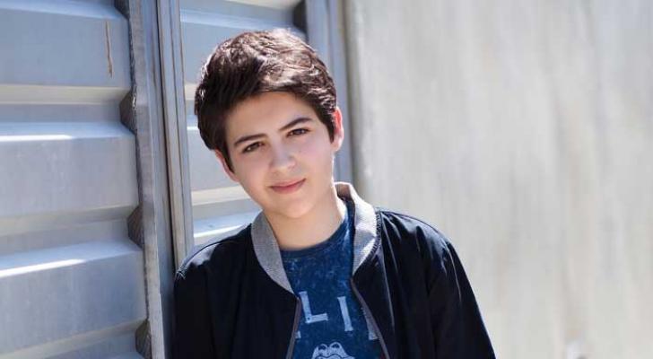Joshua Rush, 15 anos, que interpreta Cyrus (Foto: Divulgação)