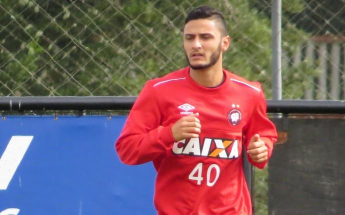 Renan Souza; Atlético-PR (Foto: Fernando Freire)