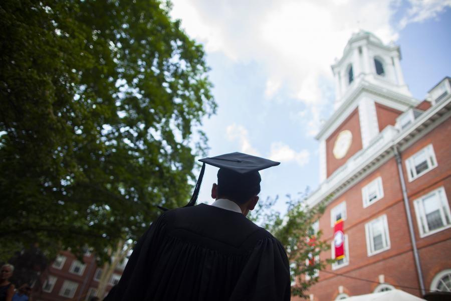 As faculdades por trás dos milionários (Foto: Divulçação/Harvard)