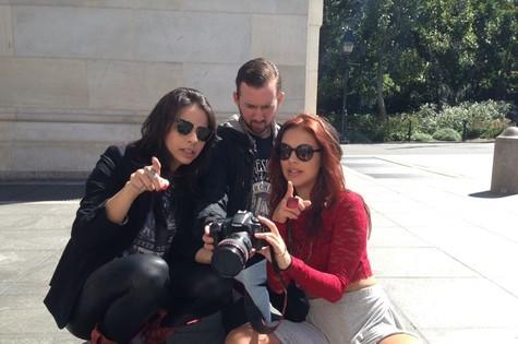 Paloma Bernardi roda curta-metragem em Nova York (Foto: Divulgação)