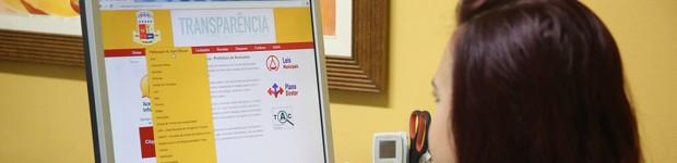 Portal da Transparência garante acesso mais ágil às informações governamentais (Marcelo Figueiredo/Ascom Araruama)
