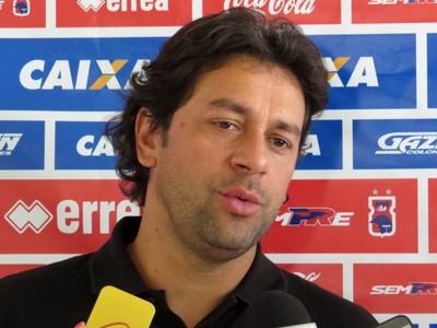 Marcus Vinícius, gerente de futebol do Paraná Clube (Foto: Fernando Freire)