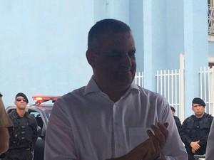 Secretário de Segurança Pública Alfredo Gaspar de Mendonça (Foto: Michelle Farias/G1)
