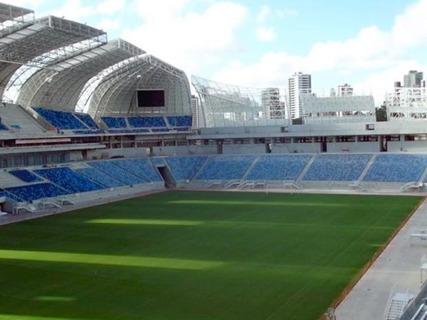 Estádio Arena das Dunas, em Natal (Foto: Canindé Soares)