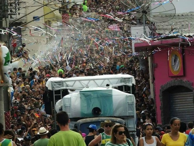 Bloco dos Moiados atrai foliões em Nazaré Paulista (Foto: Divulgação )
