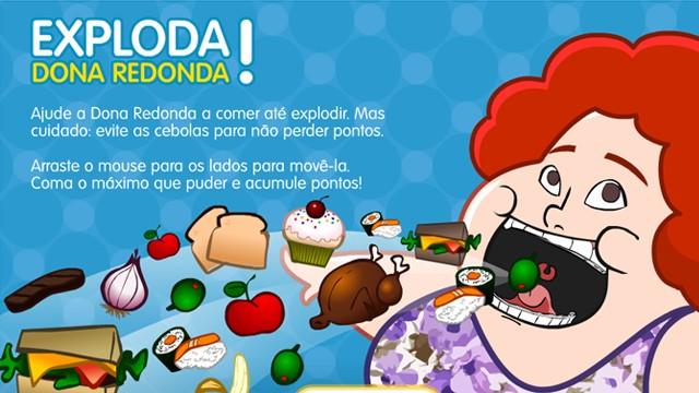 Jogo da novela Saramandaia 'Exploda! Dona Redonda' (Foto: Reprodução)