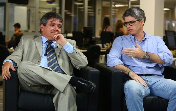 Flávio Félix e Alessandro Abreu Avaí (Foto: Ricardo Wolffenbüttel / Agencia RBS)