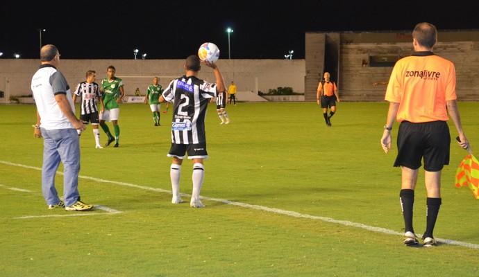 Botafogo e miramar, pelo Campeonato Paraibano, no Estádio Almeidão (Foto: Amauri Aquino / GloboEsporte.com/pb)