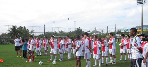 Clinica Ajax (Foto: Globoesporte.com)
