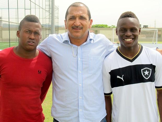 Jogadores sul-africanos visitam Engenhão (Foto: Thales Soares)
