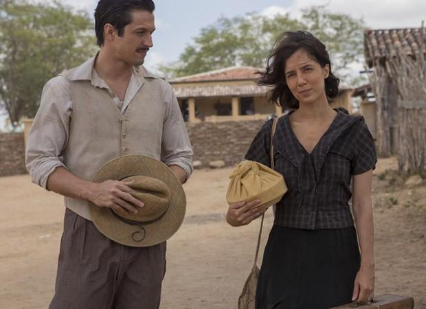 Rômulo Estrela e Marjorie Estiano  (Foto: Divulgação)