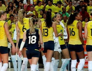 Brasil x Holanda Desafio Internancional AL  (Foto: Viviane Leão/GLOBOESPORTE.COM)