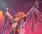 Rob Zombie faz 'filme de terror ao vivo' (Luciano Oliveira/G1)