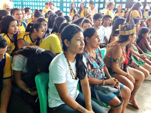 Evento reuniu alunos de escola em Nova Olinda (Foto: Reprodução)