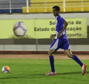 Renan Plácido, atacante Amax Acre (Foto: Duaine Rodrigues)