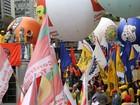 Centrais sindicais fazem ato contra governo Temer na Avenida Paulista