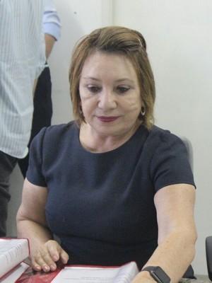 Promotora Graça Monte (Foto: Wenner Tito )