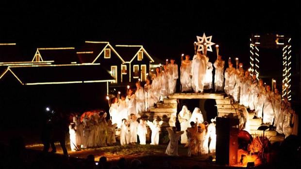 Venha se emocionar com o 'Natal no Parque - Um Milagre em Belém' (Foto: Divulgação)