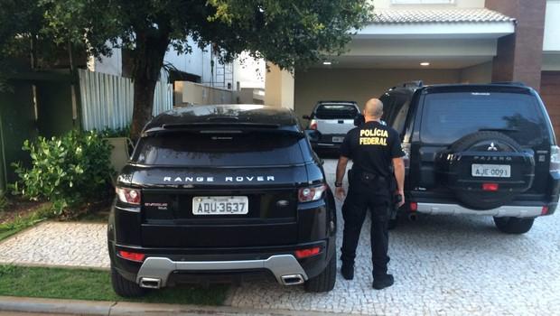 Na 11ª fase da Operação Lava Jato, policiais federais cumprem 32 mandados judiciais (Foto: Divulgação/Polícia Federal)