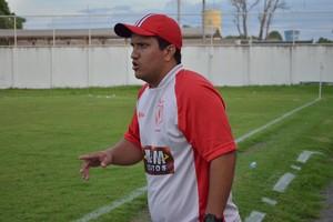 Zé Henrique, técnico do Náutico-RR (Foto: Nailson Wapichana)