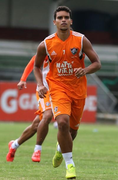 Jean, treino, Fluminense, Laranjeiras (Foto: Nelson Perez/Fluminense F.C.)