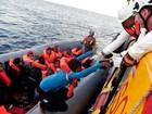 Número de migrantes mortos no Mediterrâneo bate recorde com 3.800