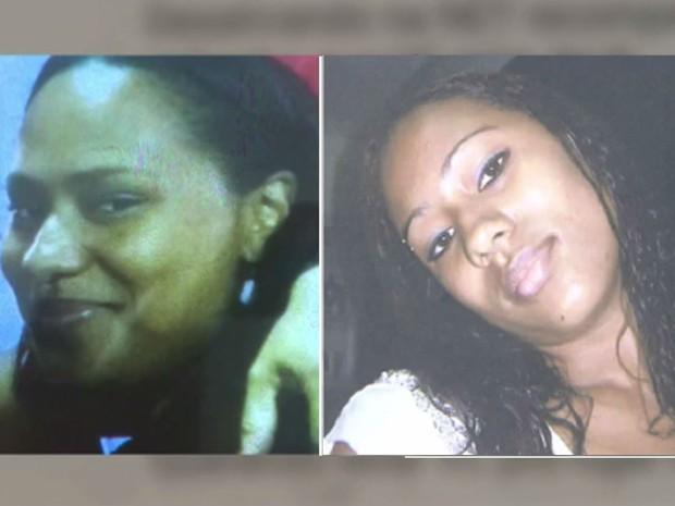 Gêmeas Maíse e Michele Santos de Araújo, de 23 anos, foram presas (Foto: Reprodução/TV Bahia)
