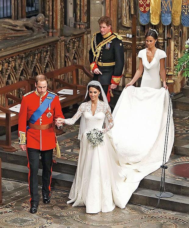 Casamento de William e Kate (2014)  (Foto: Clara Molden, Tim Graham / Getty Images, Divulgação)