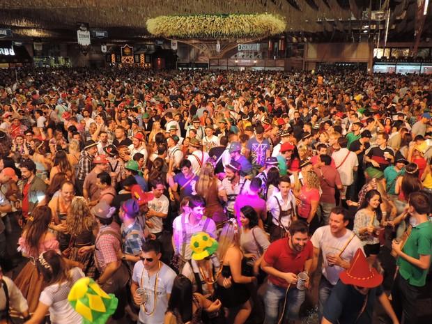 32ª Oktoberfest, em Blumenau (Foto: Jaime Batista/Divulgação)