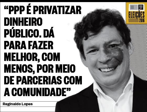 Debates Reginaldo Lopes (Foto: Erwin Oliveira /Estadão Conteúdo)