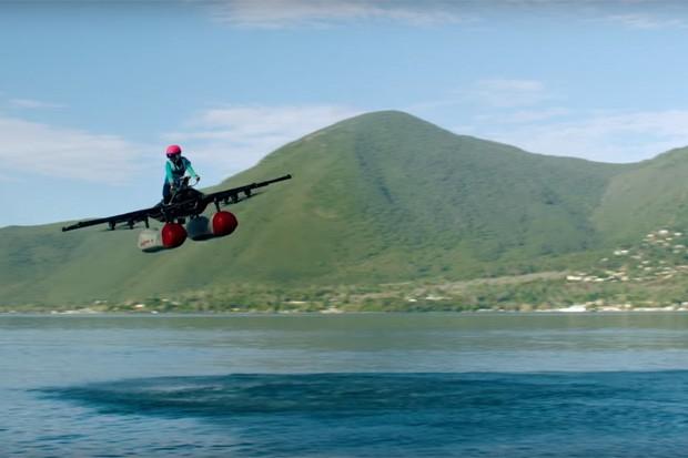 """Kitty Hawk Flyer, o """"carro voador"""" de Larry Page (Foto: Reprodução)"""