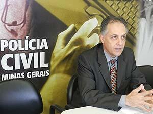 Samuel Barreto de Souza, delegado chefe do 9° departamento da Polícia Civil (Foto: Carolina Portilho/G1)