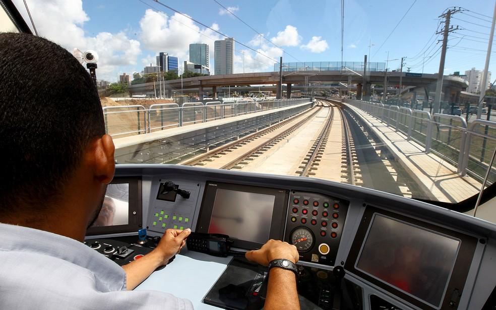 Metrô vai passar pelo Imbuí, entre outras estações, até chegar em Pituaçu (Foto: Camila Souza/ GOVBA)