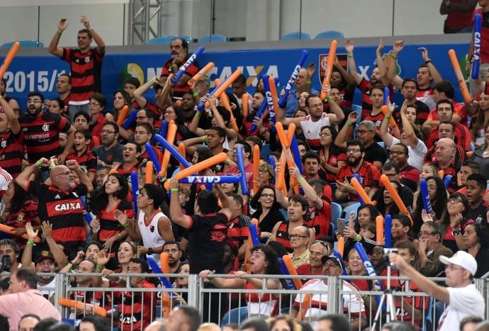 Ingressos esgotados para o jogo 5 entre Flamengo e Bauru pela final do NBB (Foto: João Pires/LNB)