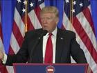 Trump dá primeira entrevista coletiva desde a eleição