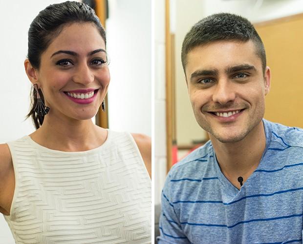 carol e Leicam (Foto: The Voice Brasil/Gshow)