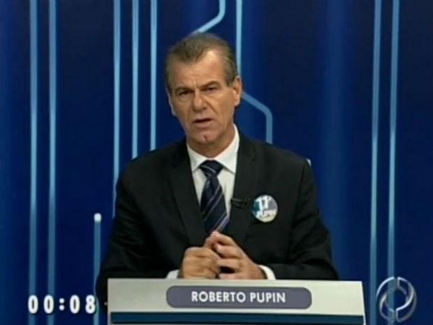 Carlos Pupin foi eleito prefeito de Maringá neste domingo (28) (Foto: Reprodução/RPCTV)