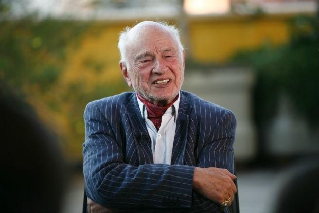 O filósofo francês Edgar Morin (Foto: Pedro Abude)