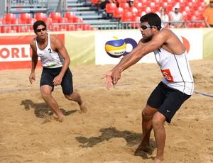 Victor Felipe e Álvaro Filho caem na classificatória do Grand Slam de Olsztyn