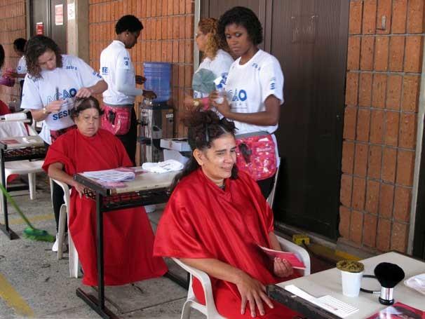 Ação Global em Osasco (Foto: Divulgação/Teresa Tavares)