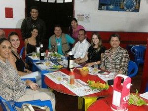 Jornalistas Comida Buteco (Foto: Vanessa Pires/Arquivo Pessoal)