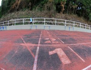 Pista da Vila Olímpica do Mato Alto (Foto: André Durão)
