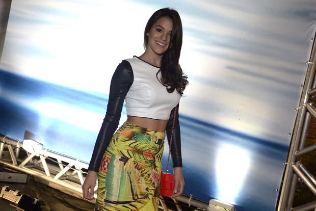 Bruna Marquezine no Fashion Rio Inverno 2014 (Foto: Roberto Teixeira / EGO)