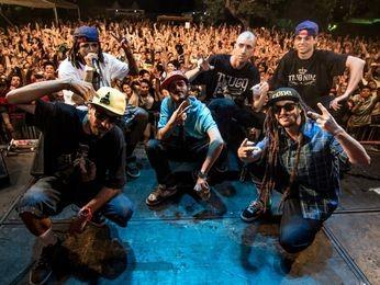 Grupo ConeCrew Diretoria faz show em Aracaju (Foto: Sergio Reis Nascimento )
