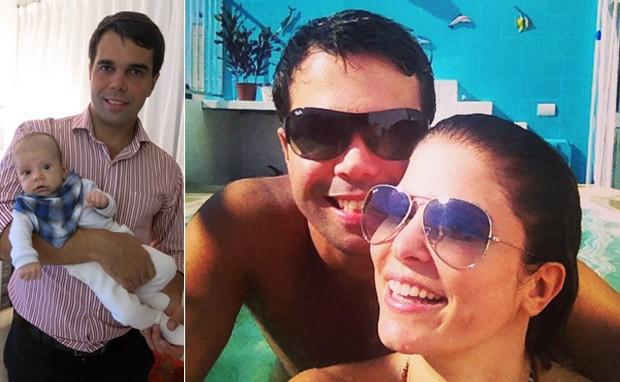 Brbara Borges e o filho Martin (Foto: Reproduo / Instagram)