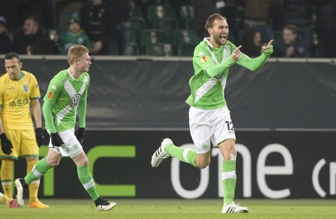 Dost Wolfsburg x Sporting (Foto: Reuters)