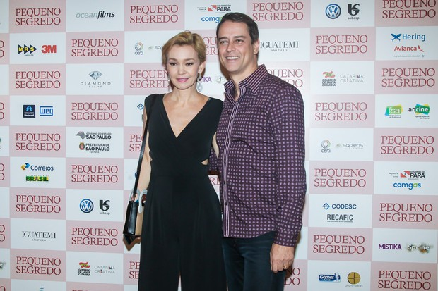 Júlia Lemmertz e Marcelo Anthony (Foto: Manuela Scarpa / Brazil News)