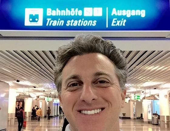 Luciano Huck - apresentador gravará programa na Alemanha (Foto: Reprodução Facebook)