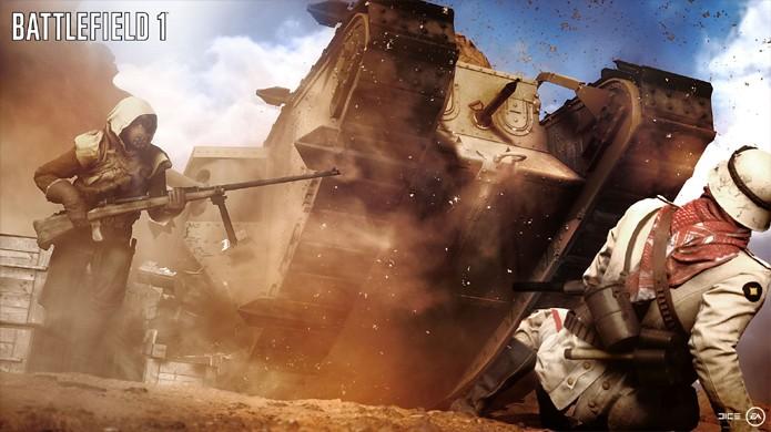 Battlefield 1 da Electronic Arts deverá ganhar destaque na conferência da Microsoft na E3 2016 (Foto: Reprodução/Polygon)