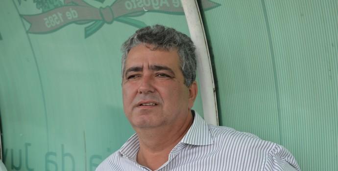 Ariano Wanderley, diretor de futebol do Botafogo-PB (Foto: Amauri Aquino / GloboEsporte.com/pb)